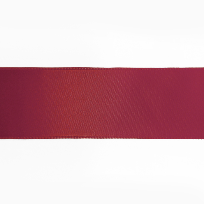 Trak, saten, 40mm, 15461-1231, bordo rdeča