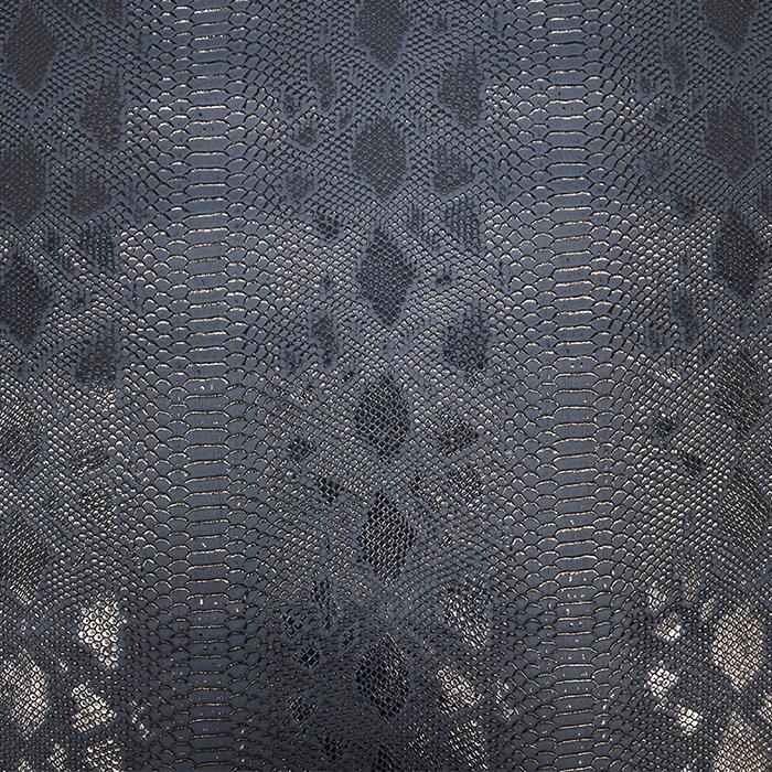 Umetno usnje, kača, 17700-454, temno modra