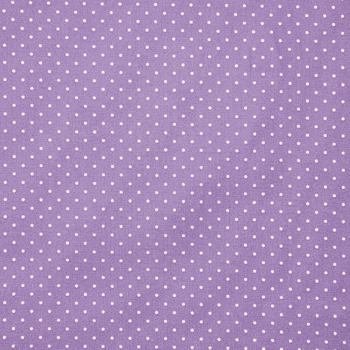 Bombaž, poplin, pikice, 17950-015, vijola