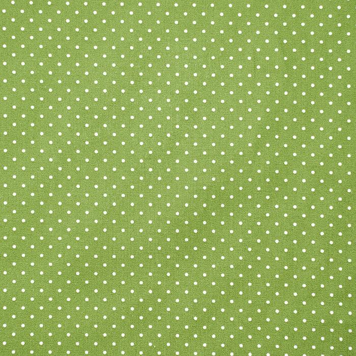 Bombaž, poplin, pikice, 17950-017, zelena