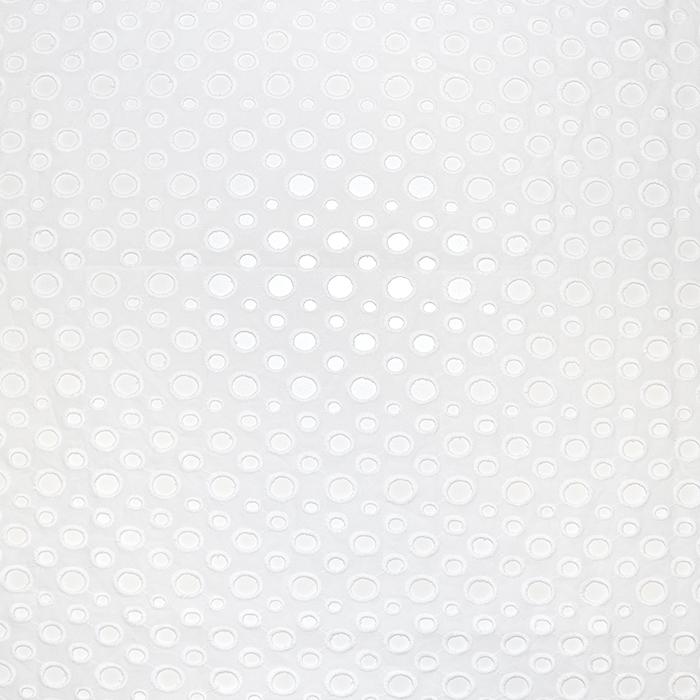 Bombaž, rišelje, pike, 18782, bela