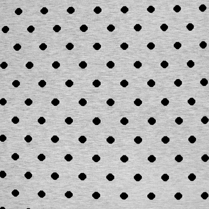 Pletivo, jersey, pike, 18817-20, črno siva