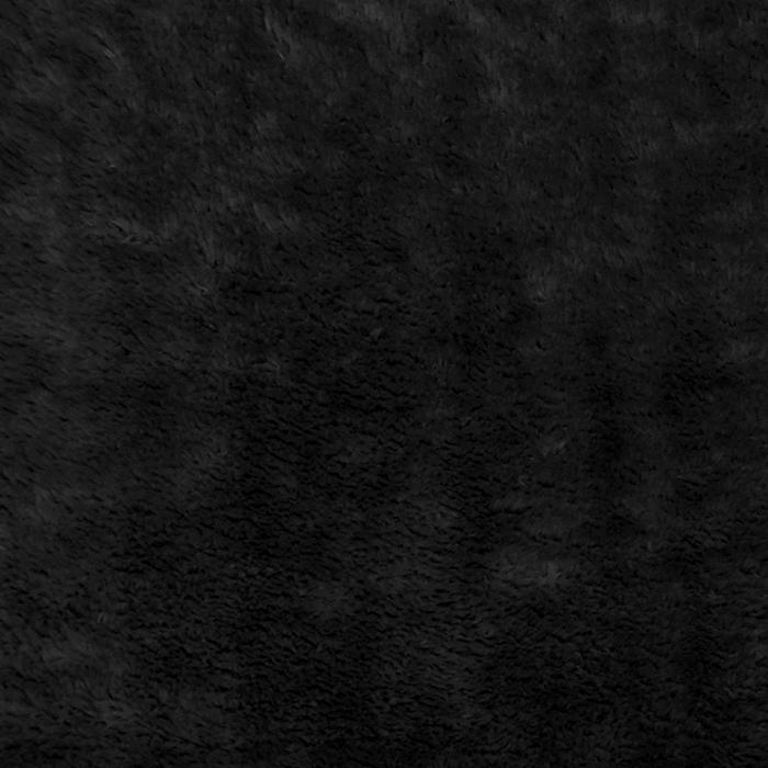 Velur coral, obojestranski, 18857-4, črna