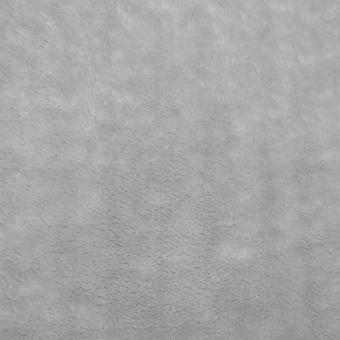 Velur coral, obojestranski, 18857-5, siva