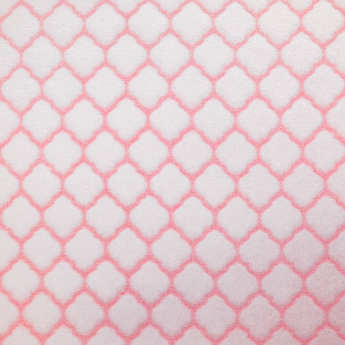 Velours, Coral, geometrisch, 18859-6, rosa