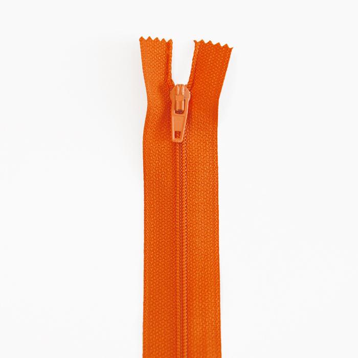Zadrga, spiralna, 20cm, 4mm, 18303-557, oranžna