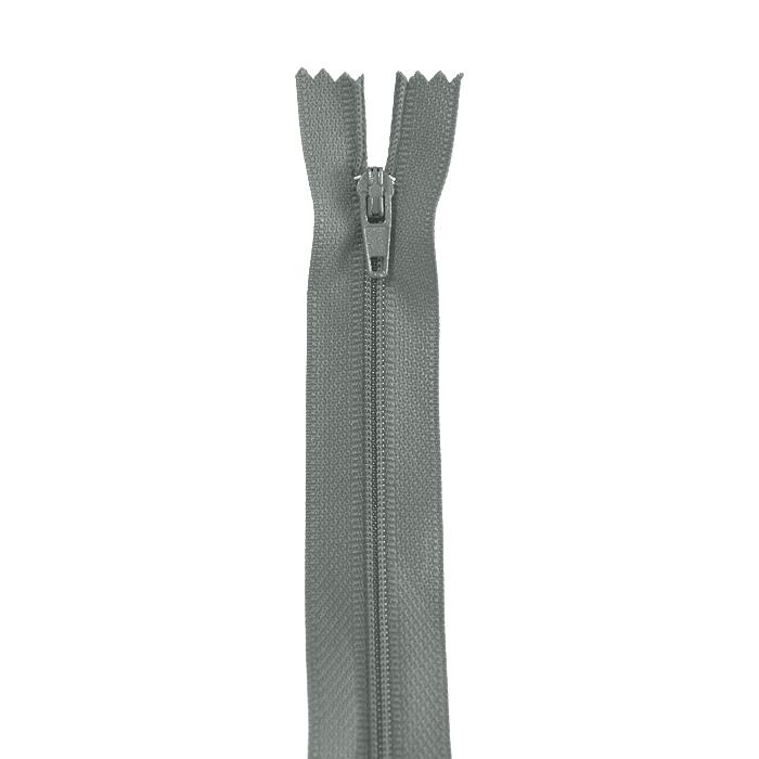 Zadrga, spiralna, 20cm, 4mm, 18303-720, siva