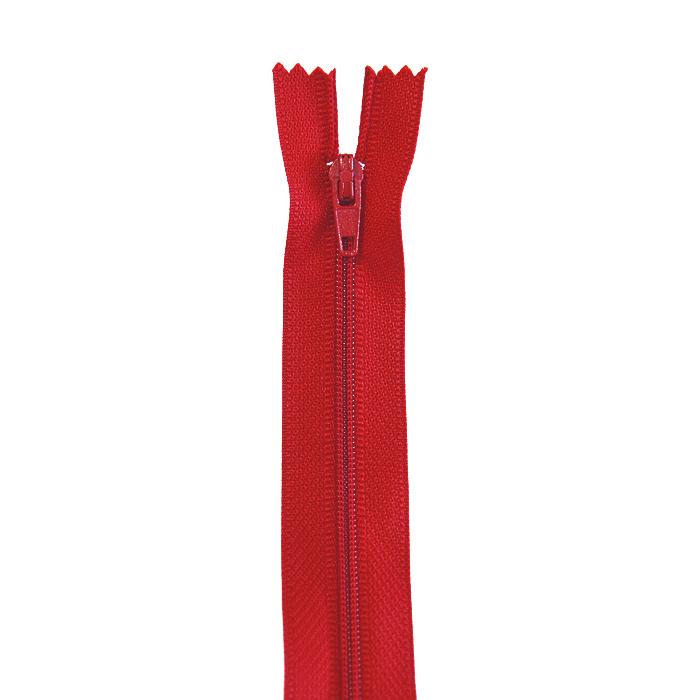 Zadrga, spiralna, 40cm, 4mm, 18304-548, rdeča