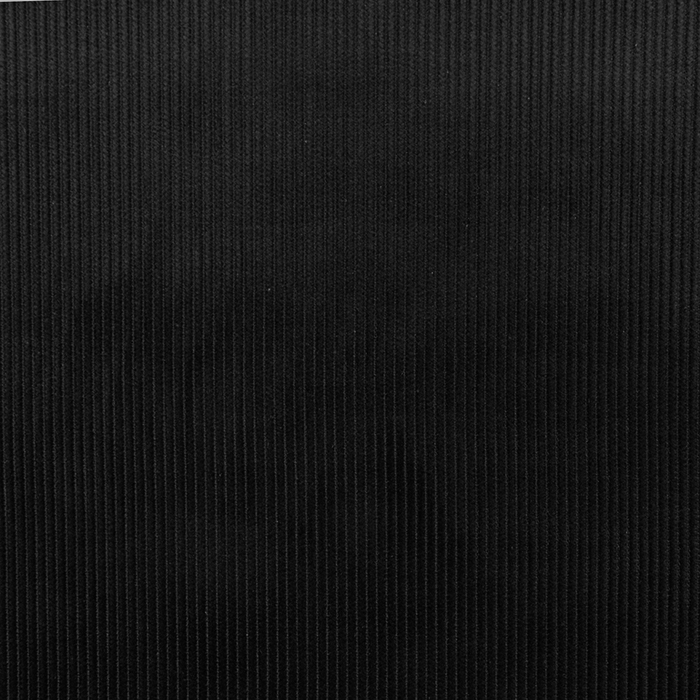 Žamet, bombaž, 18947-112, črna