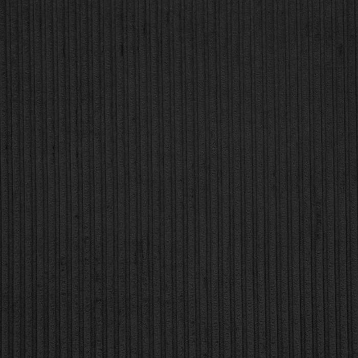 Žamet, bombaž, 18947-116, črna