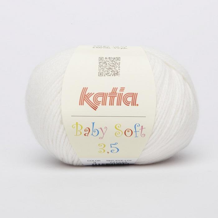 Garn, Baby Soft 3,5, 18980-3, sahne