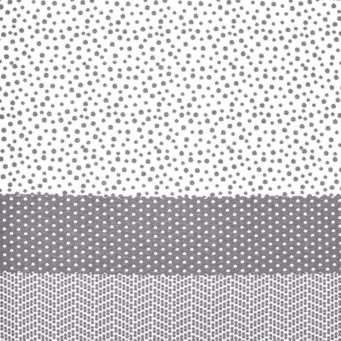 Pletivo, jersey, pike, 19008-020, belo siva