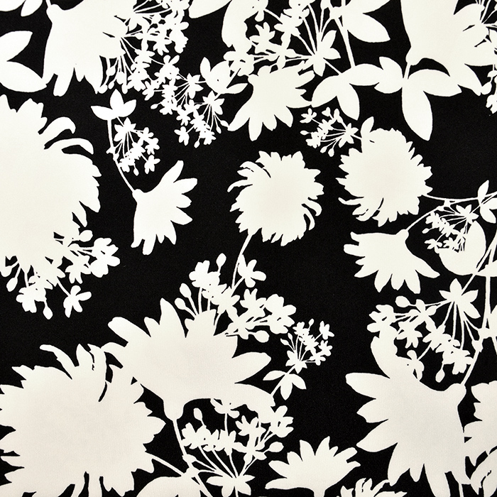 Jersey, Polyester, floral, 18992-30