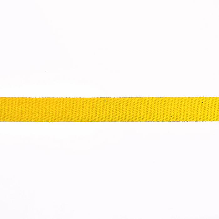 Trak, bombaž, keper, 15mm, 15835-6030, rumena