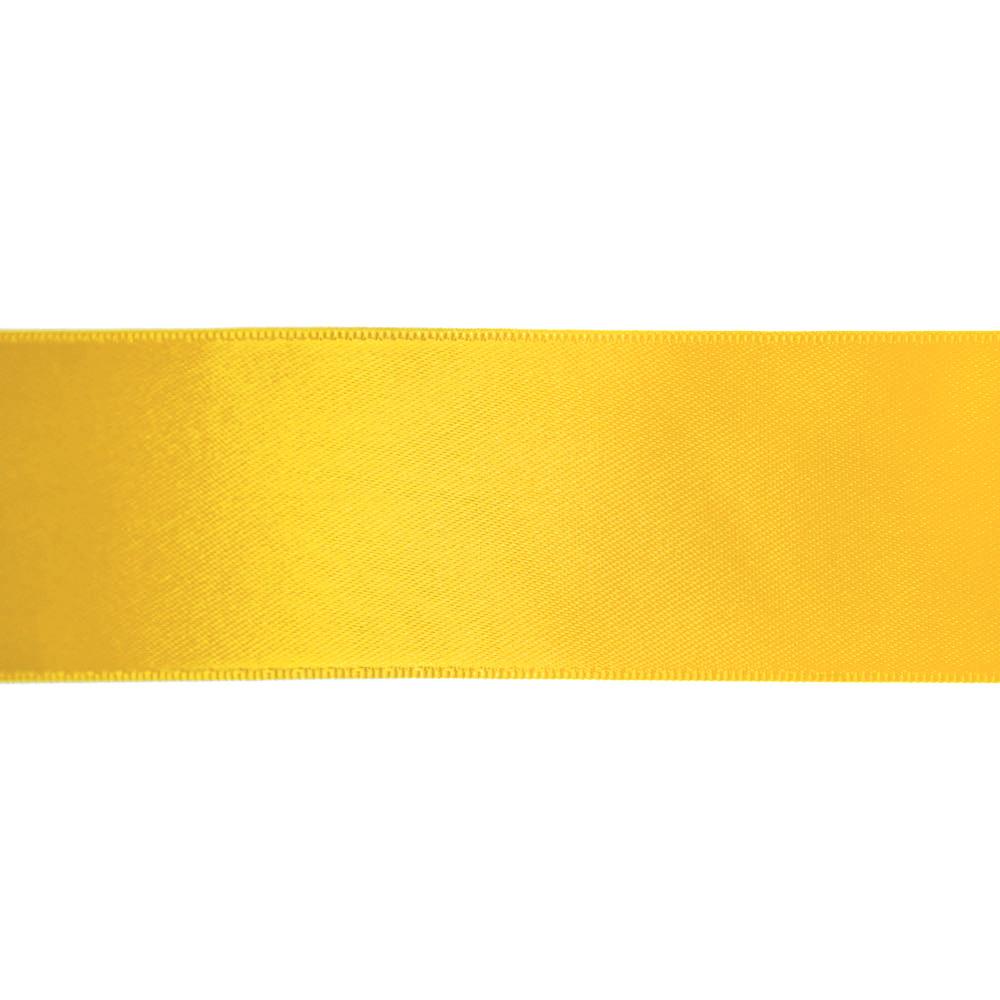 Traka, saten, 40 mm, 15461-1030, žuta