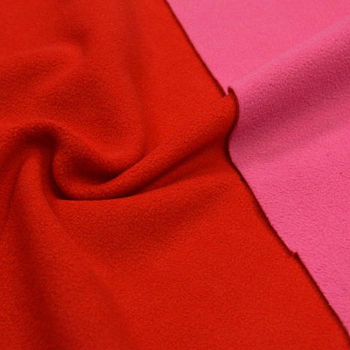 Velur, dvobarvni, 003_10140 roza rdeča