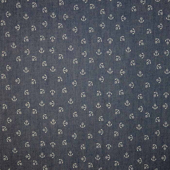 Jeans, srajčni, morski, 17607-002