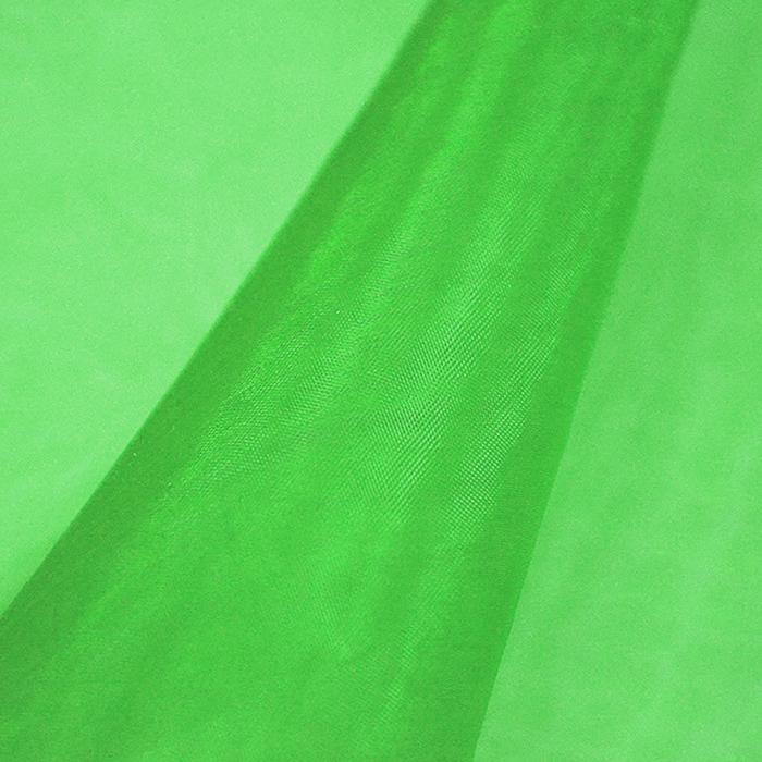 Organdi, poliamid, 4851-024, zelena