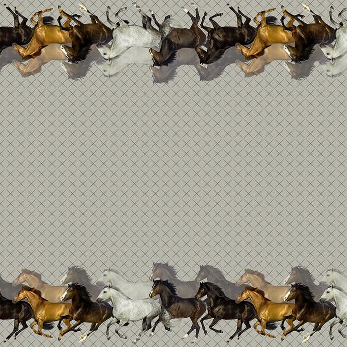 Jersey, pamuk, digital, životinjski, 18820-16