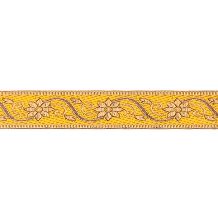 Trak, žakard, cvetlični, 19222-30543