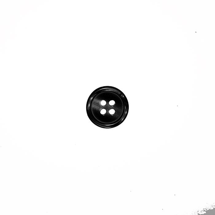 Gumb, srajčni, 19286-002, črna