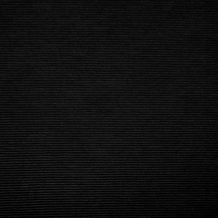 Pletivo, bombaž, rebrasto, 19310-999, črna