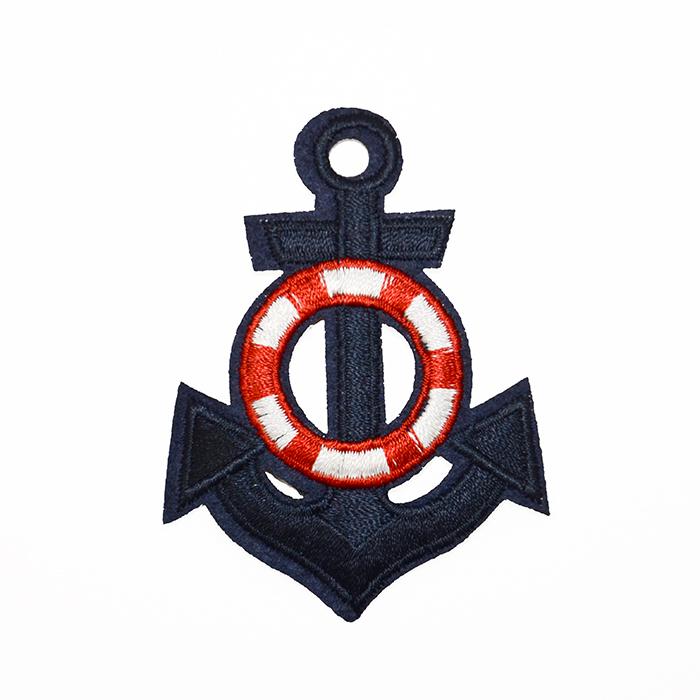 Našitek, morski, sidro, 19270-004