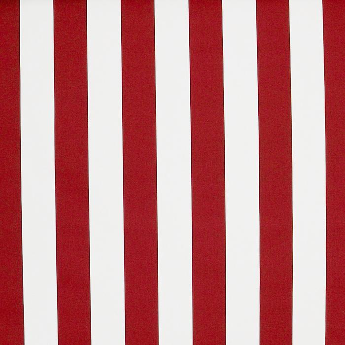 Tenda, pamuk, pruge, 18401-4, crveno-bijela