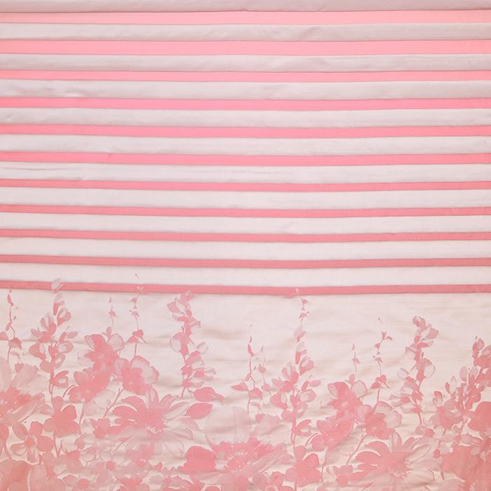 Žakard, obojestranski, cvetlični, 19539-3