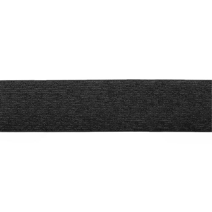 Elastika, 25mm, bleščice, 19567-31370, črna