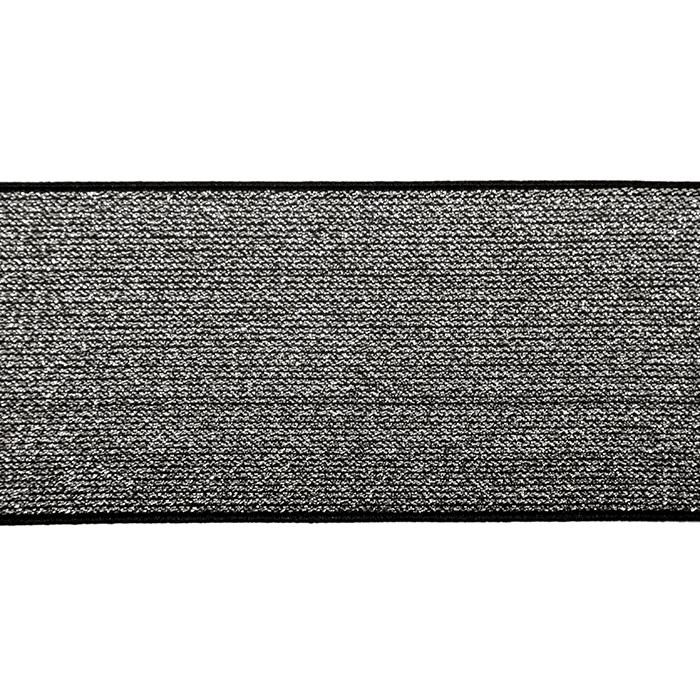 Elastika, 80mm, 19595-002, črno srebrna
