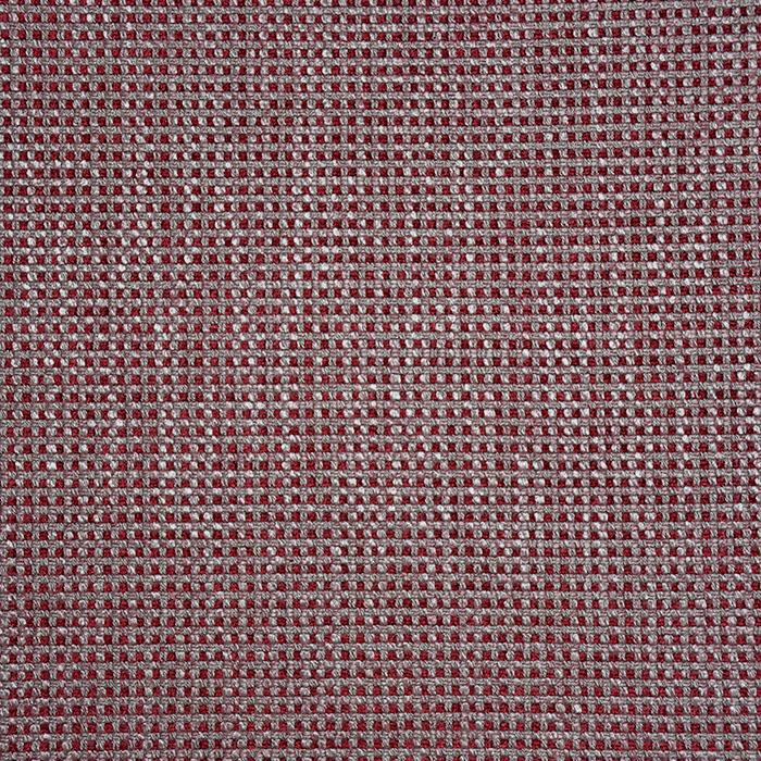 Dekostoff, Jacquard, Karo, 19615-005, rot-beige