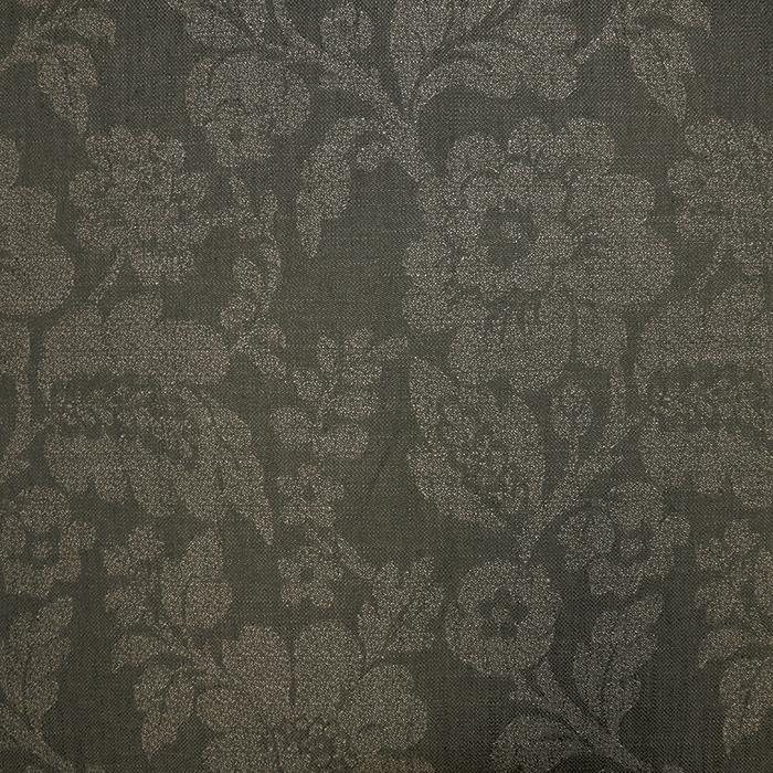 Deko žakard, cvetlični, 19628-406, zelena