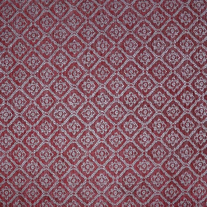 Deko žakard, ornamentni, 19613-005, rdeče bež