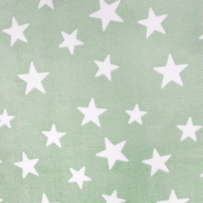 Velours, Coral, beidseitig, Sterne, 15986-977