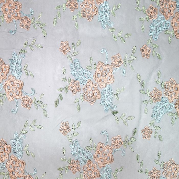 Čipka, elastična, cvetlični, 19889-999