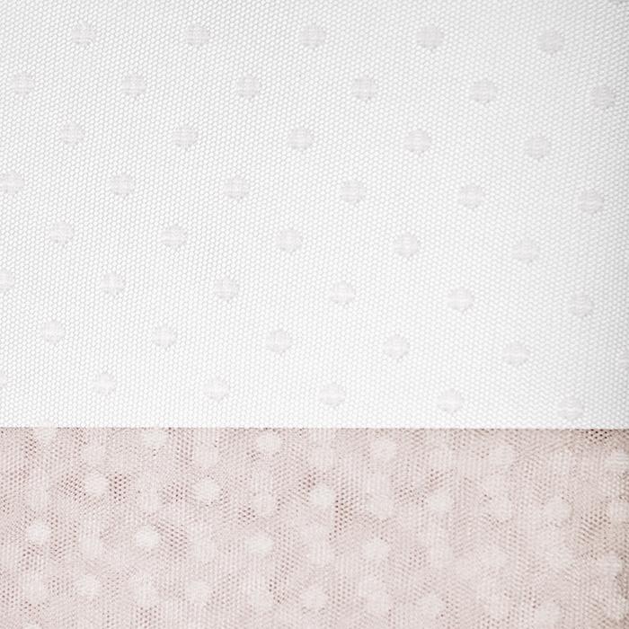Tüll, weich, Punkte, 19988-62857, rosa