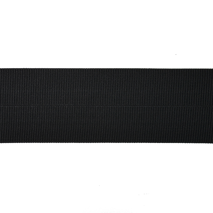 Elastika, obrobna, 75mm, 20030-002, črna
