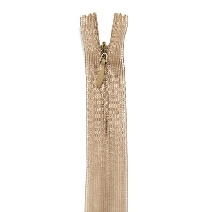 Zadrga, skrita, 35 cm, 20038-707, bež
