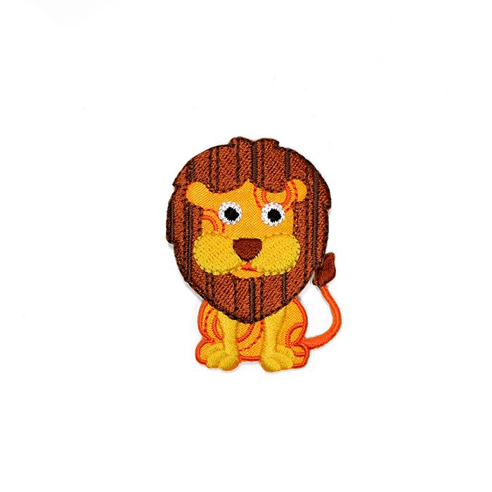 Prišivak, lav, 20032, žuta