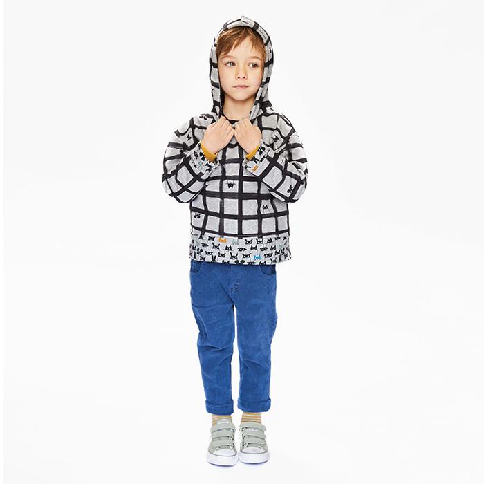 Kroj, pulover s kapuco, 20051-K3