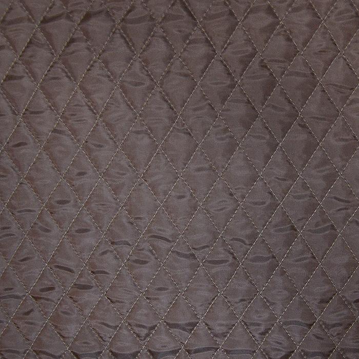 Prošiven materijal, karo, 20076-08, smeđa