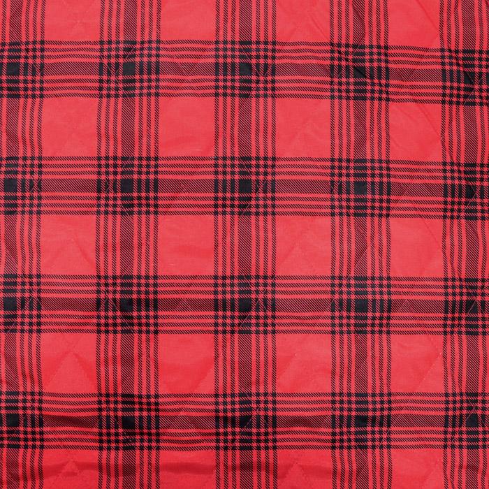 Preštepanka, karo, 20076-10, rdeča