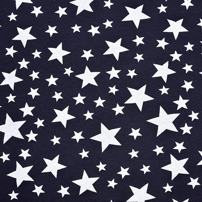 Prevešanka, zvezde, 20127-3, temno modra