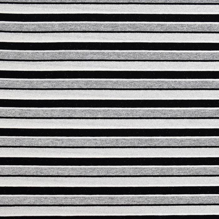 Pletivo, pruge, 20143-15, crno-siva