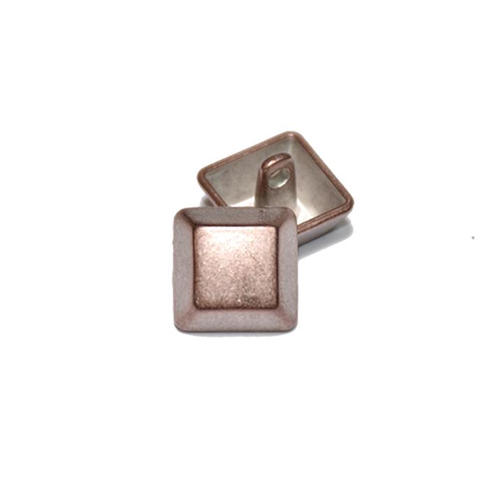 Gumb, kovinski, bombica, 18mm, 20175-108, bakrena