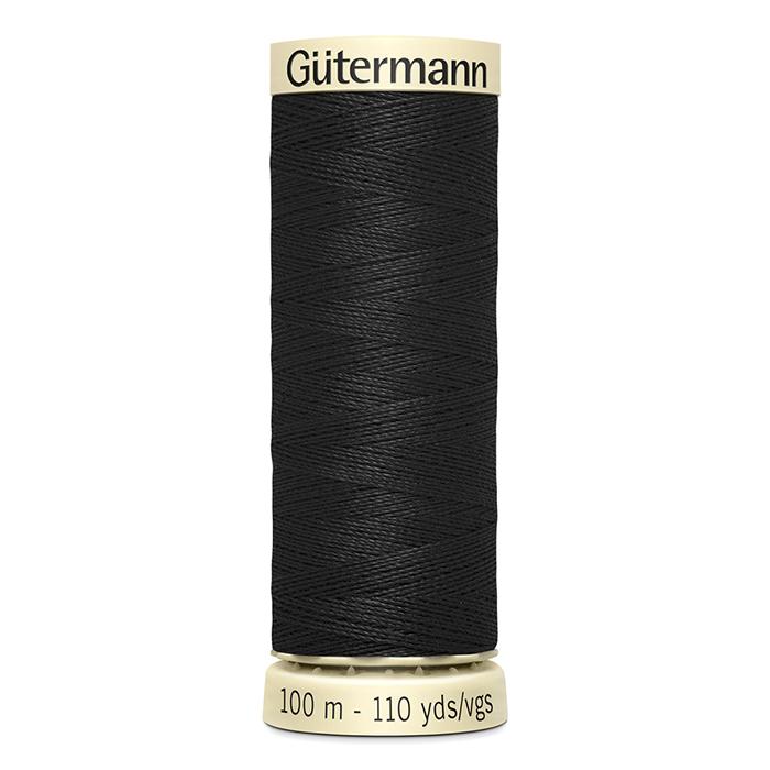 Sukanec, Gütermann klasični, 788988-0000, črna