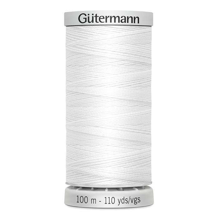 Sukanec, Gütermann ekstra, 724033-0800, bela