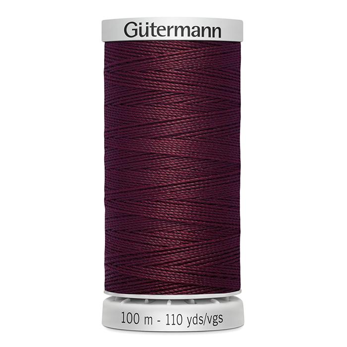 Sukanec, Gütermann ekstra, 724033-0369, temno rdeča
