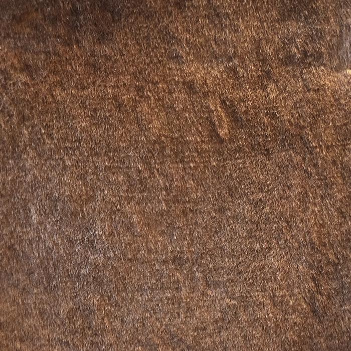 Krzno, umetno, kratkodlako, 20134-100, rjava